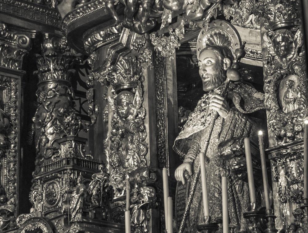 Santiago - Cathedral altar