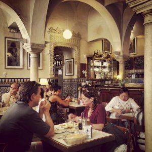 Cafe La Giralda, Sevilla