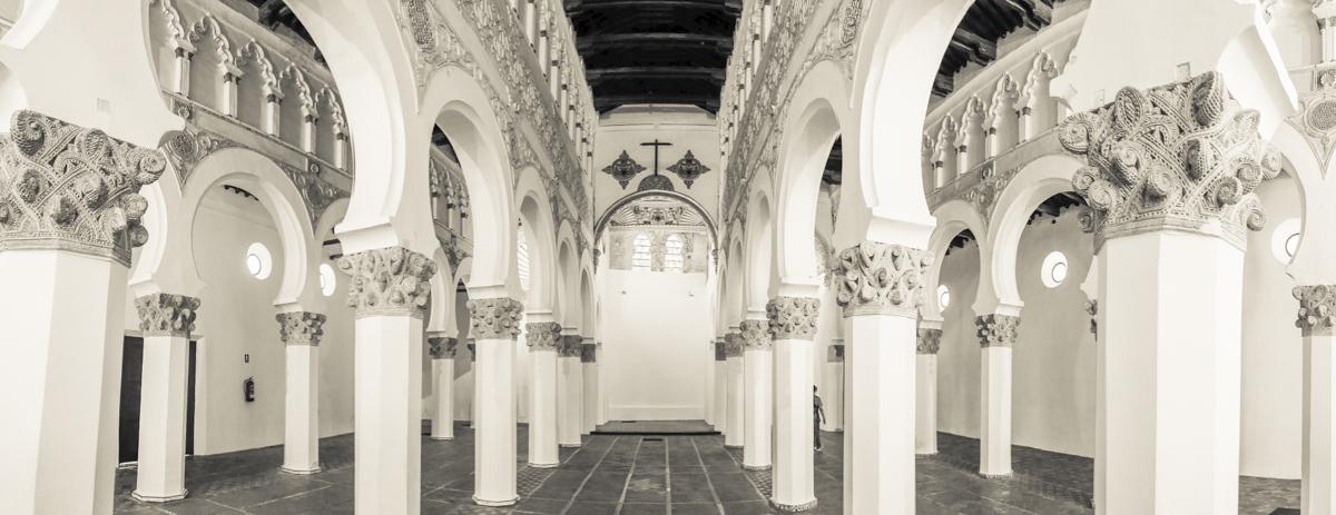 Synagogue - Toledo - Santa María la Blanca - Interior
